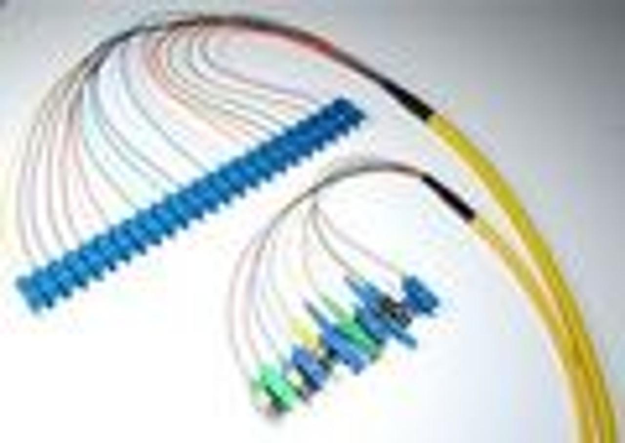 Singlemode MIC Plenum-Rated Distribution Pigtail C