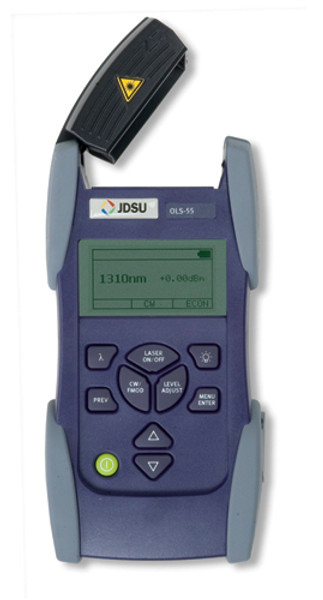 JDSU OLS-55 SmartClass Laser Light Source, SC, 1310/1550