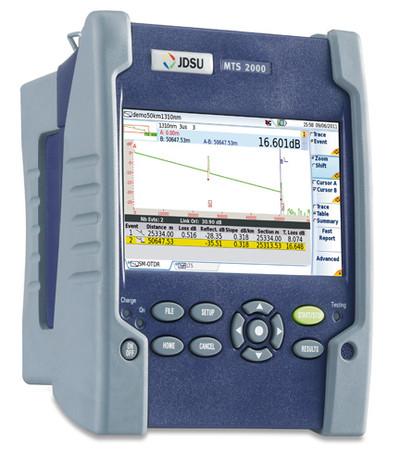 TB2-DIS-2WLM JDSU T-BERD Single Mode Modular OTDR Test Set