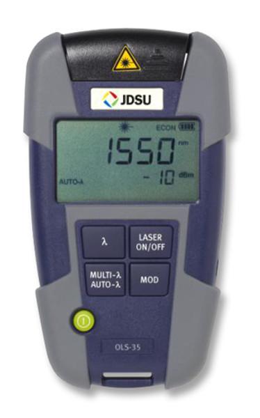 OLS-35 JDSU Single Mode Fiber Optic Laser Light Source, SC