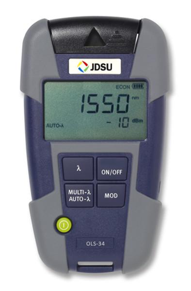 OLS-36 JDSU 2303/21 Quad SM/MM Light Source - Changeable Adapter