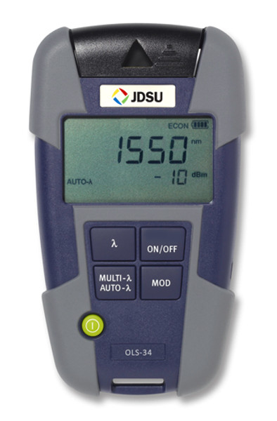 OLS-34 JDSU 2303/01 MM LED Light Source - Changeable Adapter