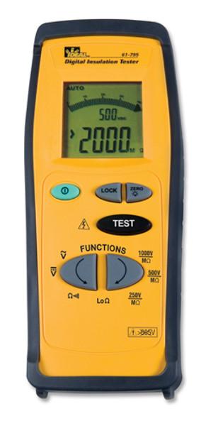 Ideal 61-795 Digital Insulation Meter - Megohmmeter