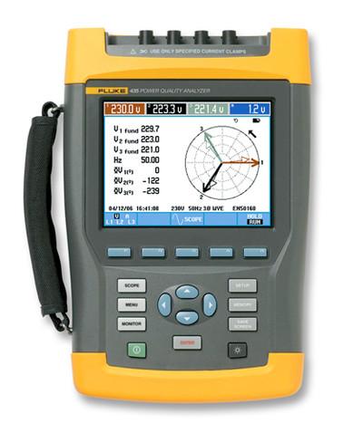Fluke 435-II/BASIC Three-Phase Power Quality & Energy Analyzer