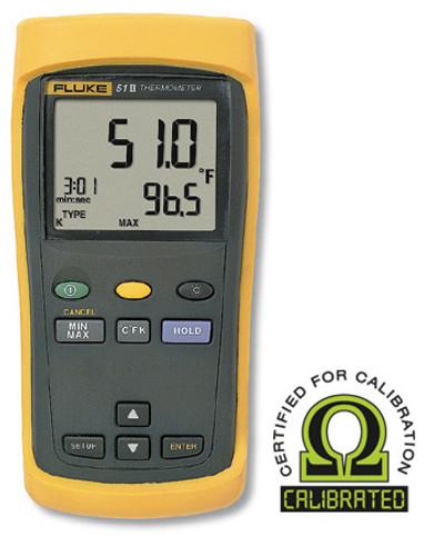 Fluke 51-2 Single Input Digital Thermometer - Calibrated