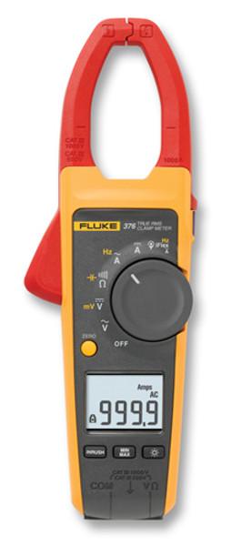 Fluke 376 True RMS AC/DC Clamp Meter, 1,000 Amp w/ iFLEX