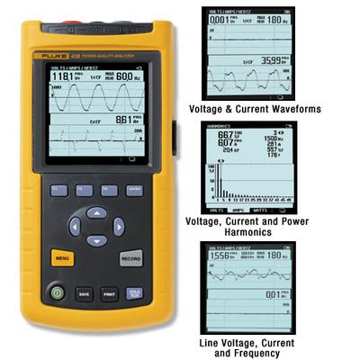 Fluke 43B/003 Power Quality Analyzer