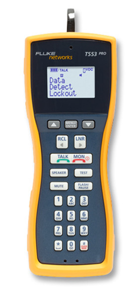 Fluke Networks TS53-C-04 Test Set w/CO 346A Plug Cord Set