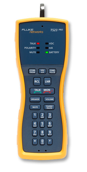 Fluke Networks TS23-BANA Test Set w/Banana & XL Alligator Clips