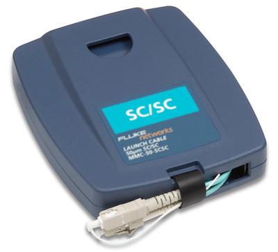 Fluke Networks MMC-50-SCSC Multimode SC/SC Launch Cable, 50um