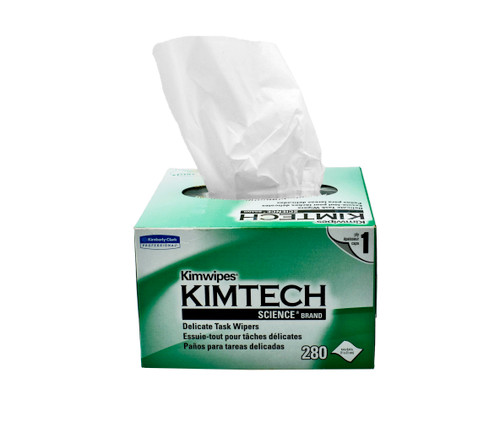 Kimwipes 60 boxes / case, 280 wipes / box
