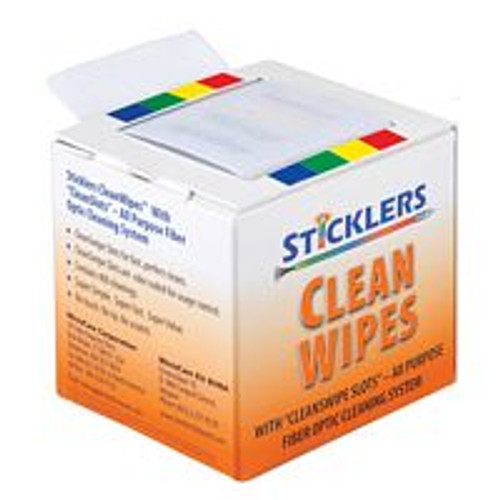 PFP Sticklers CleanWipes Optical Grade Cleaning Wipes MCC-WCS100