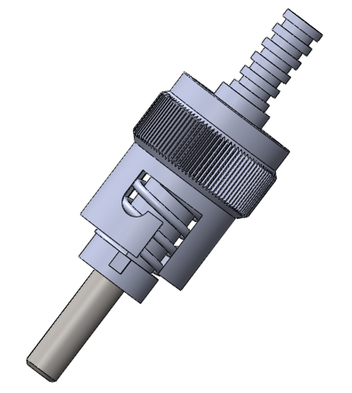 ST 304 Stainless Steel Ferrule Connectors, Multimode