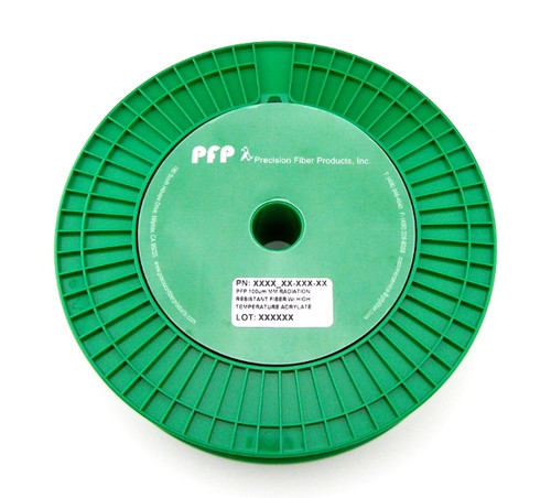 PFP 350 nm Pure Silica Core Polarization Maintaining Fiber