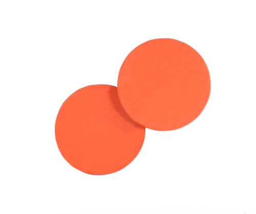 PFP Polishing Rubber 5 inch  (127mm) Round, 2.0mm thick pads