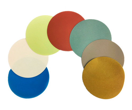 PFP Fiber Optic Polishing Film Discs (Sold In Packs)