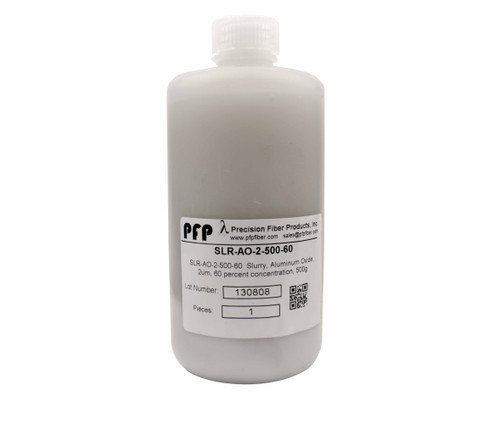 PFP Polishing Slurry - Aluminum Oxide, 2um - 500ml Bottle