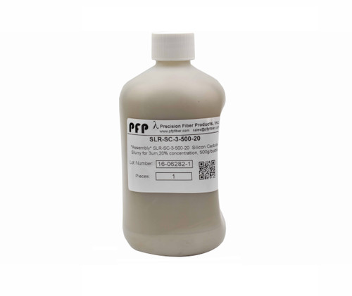 PFP Polishing Slurry - Silicon Carbide, 3um - 500ml Bottle