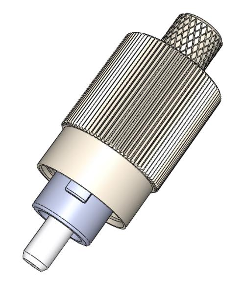 FC Singlemode Connectors, Pre-Domed