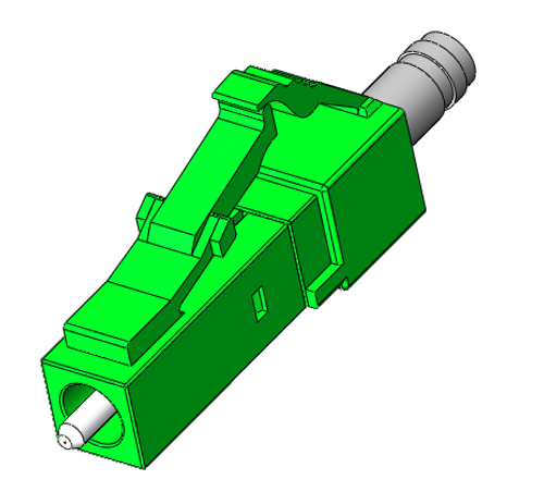 LC/APC Singlemode Connectors