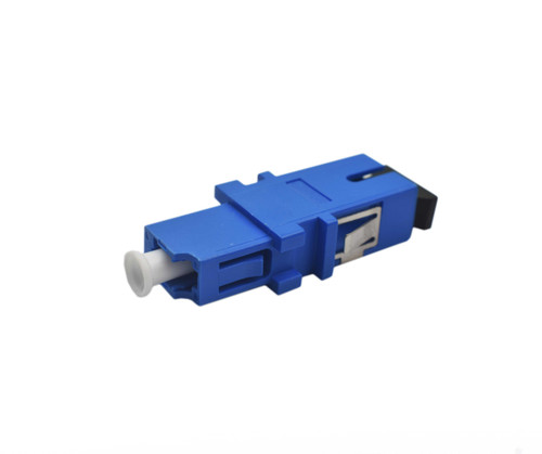 PFP SM Hybrid Adapter, LC - SC Plastic type, SC and LC Mount, Blue color