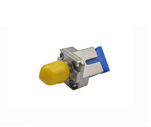 PFP SC - FC Singlemode Wide Key Hybrid Mating Adapter