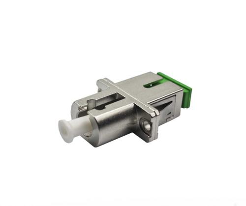 PFP LC/APC - SC/APC Metal Singlemode Adapter