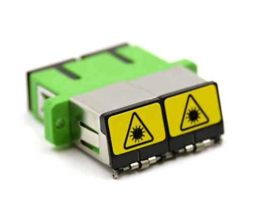 PFP SC/APC Duplex Adapter with Shutter Cover
