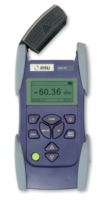 JDSU OLP-55 Fiber Optic SmartClass High-Sensitivity Power Meter