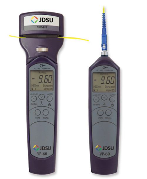 FI-60 JDSU Live Fiber Identifier with Optical Power Meter