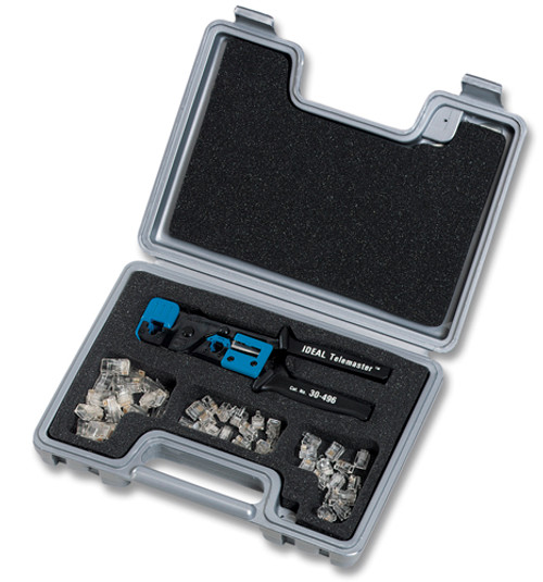 SPC530 Ideal Telemaster RJ45 Connector Tool Kit