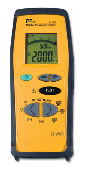 Ideal 61-795 Digital Insulation Meter - Megohmmeter