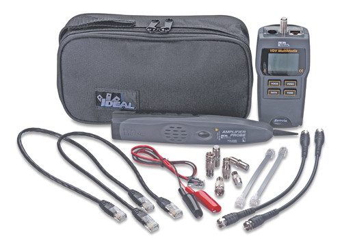 Ideal 33-866 Test, Tone & Trace Kit - Multimedia Cable Testing