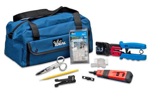 Ideal 33-506 Data/Voice Network Pro-Tool Maintenance Tool Kit