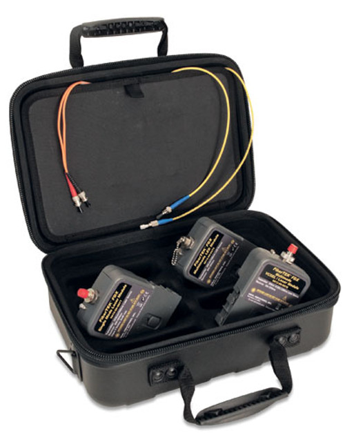 Ideal 33-990-FA04 FiberTEK FDX MM/SM Kit, LanTEK II
