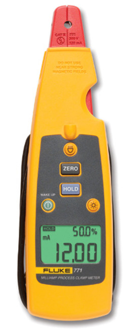 Fluke 771 Milliamp Clamp Meter / Process Clamp Meter