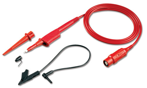 Fluke VPS210-R 200 MHz Voltage Probe Set for 190 Series, RED