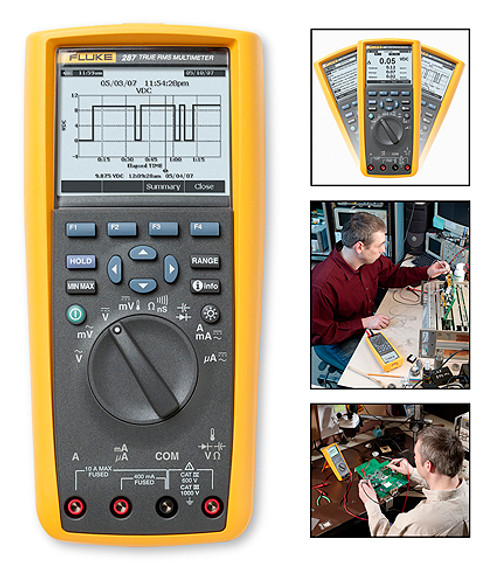 Fluke 287 True RMS Digital Multimeter Logging Multimeter