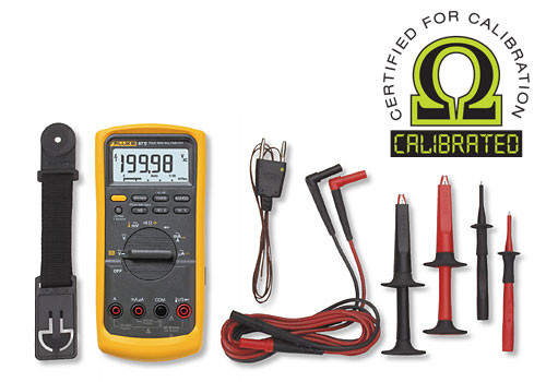 Fluke 87V/E2 True RMS Digital Multimeter Kit - Calibrated