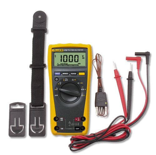 Fluke 179/TPAK True RMS Digital Multimeter w/ ToolPak Combo Kit