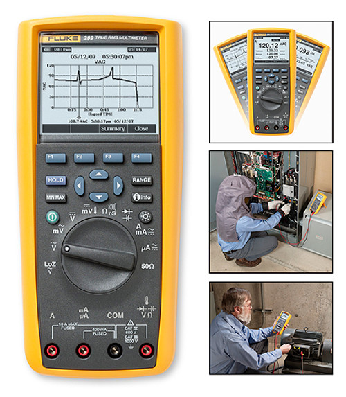 Fluke 289 True RMS Digital Multimeter Logging Multimeter