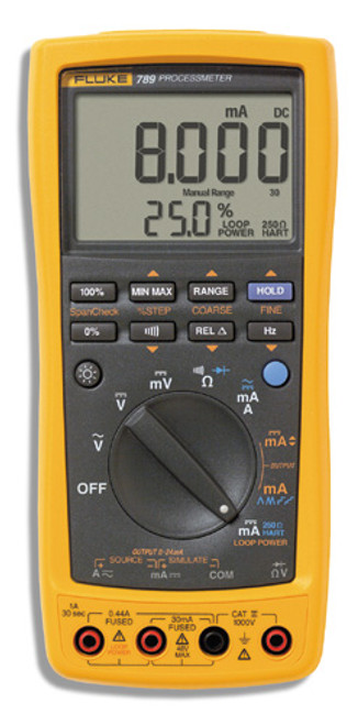 Fluke 789 Process Meter, Infrared I/0 Serial Port Compatible