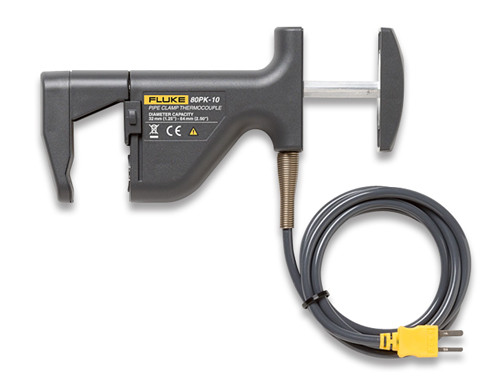 Fluke 80PK-10 Pipe Clamp Thermocouple Probe
