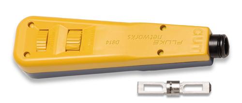 Fluke Networks 10055200 D814 Punch Down Tool, 66 & 110 Blades