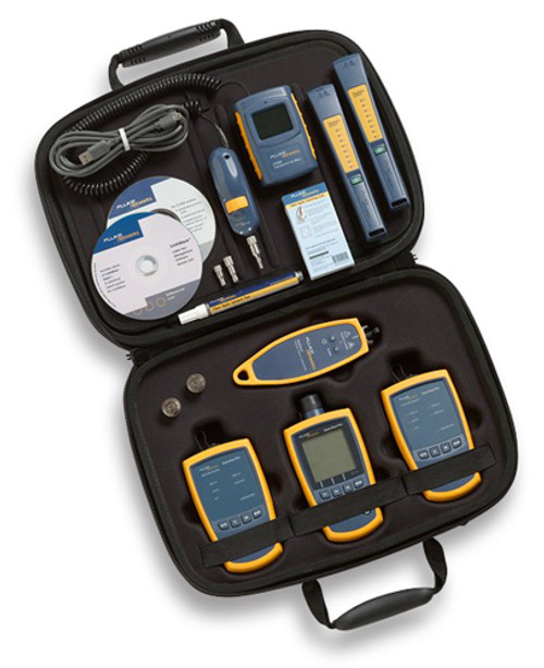 Fluke Networks FTK1450 Complete Fiber Verification Kit w/ FT500