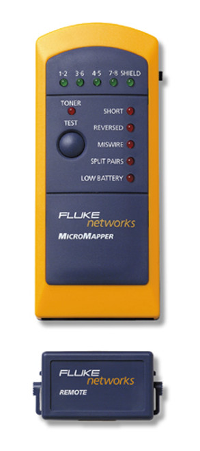 Fluke Networks MT-8200-49A MicroMapper Wiremap Checker