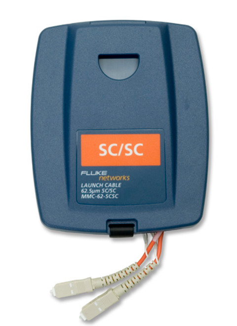 Fluke Networks MMC-62-SCSC Multimode SC/SC Launch Cable, 62.5um
