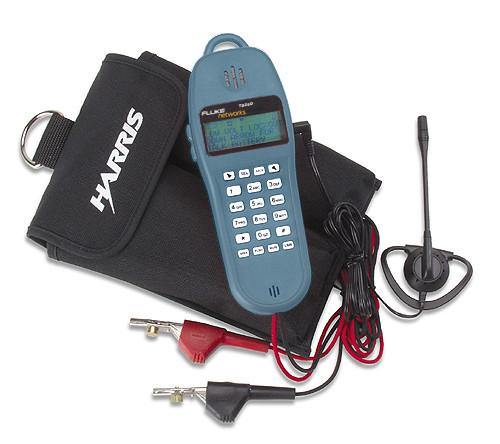 Fluke Networks 25501109 TS25D Test Set Kit, ABN Cord & Earpiece
