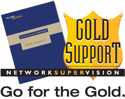 Fluke Networks GLD-OFP-CFP-MI/SI 1-Year Gold Support