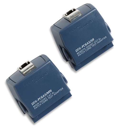 Fluke Networks DTX-PC6AS DTX Cat6A Patch Cord Adapter Set